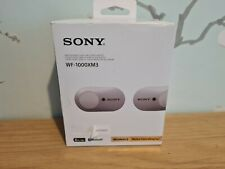 Sony WF-1000XM3 Noise Cancelling True Wireless Headphones ORIGINAL BOX ONLY