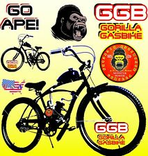 "48CC 66cc 80cc 2-stroke motorized bike kit And 26"" Cruiser Bike BICYCLE"
