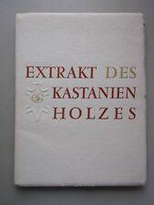 Extrakt des Kastanienholzes Holz Kastanien