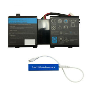 NEW 2F8K3 REPLACEMENT BATTERY FOR ALIENWARE 17 R1, 18 R1 14.8V 86WH G6M0W KJ2PX