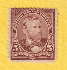 jis36 Us Stamp # 255 5c 1894 *Mint Lh Cv$120.00 1045ac