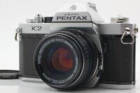 *NEAR MINT* Pentax K2 SLR 35mm Film Camera w/ SMC Pentax-M 50mm f/1.7 from JAPAN