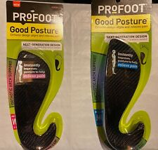 Profoot Care Good Posture Orthotic Insoles-Women's 6-10 OR Men's 8-13 You Choose