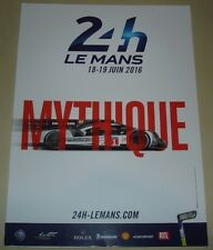 Le MANS 2016 DU MANS FIA CME UFFICIALE Mythique PRESS KIT multimediale FASCICOLO DE PRESSE