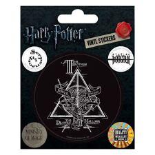 Offiziell Lizenziert harry potter Symbole Vinyl Aufkleber Set mit 5
