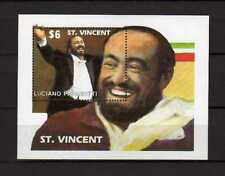 16083) ST. VINCENT 1991 MNH** S/S Pavarotti