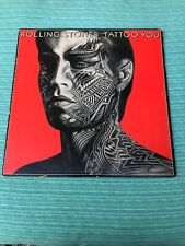 "The Rolling Stones-""Tattoo You"" Atlantic COC 16052 Vinyl LP Record VG+  1981"