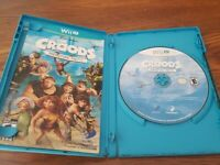 Croods: Prehistoric Party (Nintendo Wii U, 2013) perfect used condition