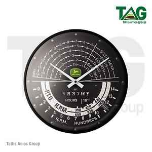 Genuine John Deere Tacho Wall Clock - MCN000051086