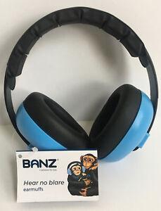 Banz Hear No More Earmuffs- Carewear For Kids (Color Light Blue)