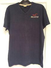 Hollister Mens T Shirt Navy V Neck Size XL