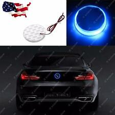 1x 82mm Blue Emblem Led Background Light For Bmw 3 5 7 X Series (Fits: Bmw)