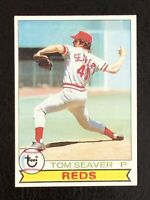1979 Topps Tom Seaver Card #100 EX/NM - Reds, Mets HOF