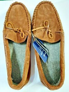 Genuine Leather Easy On/Off Indoor/Outdoor Sole M GE Trappers Mocassins