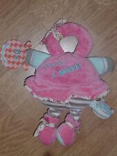 Doudou et Compagnie Poupée doll bébé d'amour les bouilles de doudou rose bouille