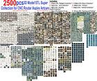 2500+ 3D Model STL Super Collection for CNC Router Aspire Artcam Cut3D Vcarve