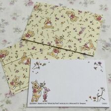 Disney Winnie The Pooh Cute Mini Stationery Set (5 Envelopes/30 Sheets)