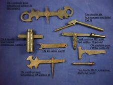 Lot d'outils cal.30, Garand, FM bar, Browning US WW2 Jeep Willys Dodge WC Gmc
