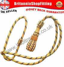 Royal Navy Officer Sword Knot Gold, British Air Force WW1 & WW11 Sword Knot