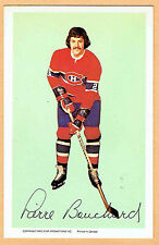 1972-73 Canadiens (Pro Star Promotions) Team Issued Postcard, Pierre Bouchard