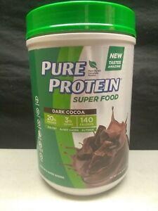 Pure Protein Super Food Dark Cocoa 1.51 LB (Exp. 02/2020)