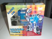 Robotic Radio Tai Fong Soundwave Blaster Cassette Man Am Radio Complete Boxed