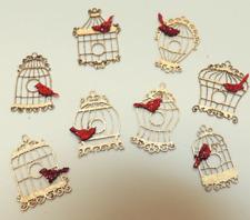 CHM - Filigree Birdcages Ornaments - Kit