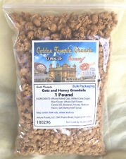 Golden Temple Granola Honey Oat Crunch, All Natural, 1 Pound Bulk
