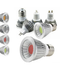 LED Spotlight Dimmable COB Bulbs MR16 6W 9W 12W 12V Red Green Blue Lamps RH778