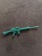 vintage green M-14 rifle from accessory pack 3 GI Joe 1985 (v1 Ripcord Mold)