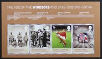 GR BRITAIN 2012 MS3270 The Age of the WIndsors, Mini-Sheet, S/S Mint NH