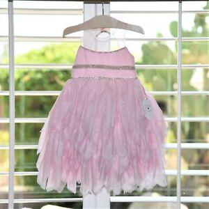 Luna Luna Copenhagen Girls Pink Scarlet Cloud Dress Size 2T Nwt