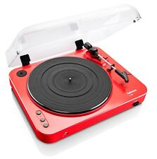 LENCO L-85 ROSSO RED Giradischi USB DIRECT SemiAuto Testina MM Garanzia ITA