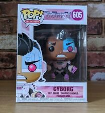 Teen Titans Go! Cyborg funko Pop! Vinyl Figure 605brand new Uk Stock