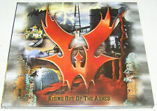 WARLORD Rising out of the Ashes DIGIPACK CD 2016 500 handnumbered copies