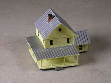 Z Scale #346 Yellow house with many porches
