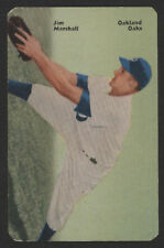 1952 Mother's Cookies PCL BB Card #9 - Jim Marshall