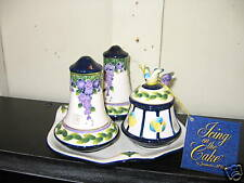 Icing on the Cake Jeanette  McCall Wisteria Salt/Pepper
