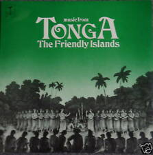 Music From TONGA the Friendly Islands LP SEALED South Pacific islands