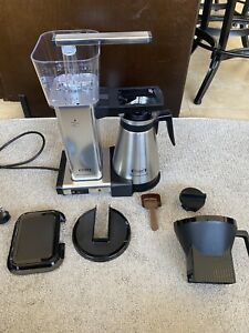 Moccamaster KBGT Thermal Coffee Brewer - Polished Silver