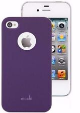 MOSHI iGlaze SNAP ON Smartphone CASE iPhone 4/4S Slim Fit COVER Matte PURPLE