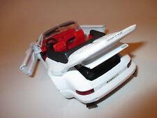 Gemballa Cyrrus auf Porsche 911 Cabriolet weiß bianco blanc white, Revell 1:24!