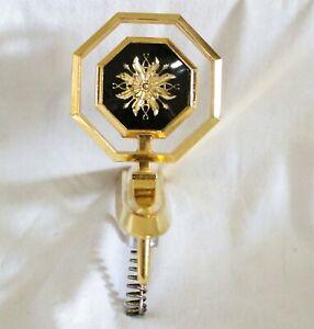 1977 - 1986 PONTIAC PARISIENNE GRAND SAFARI 24K GOLD PLATED HOOD ORNAMENT NEW!!