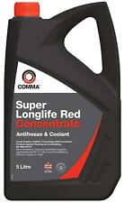 Comma Super Longlife Red - Antifreeze Concentrate 5L (SLA5L) new RED