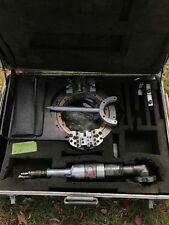 Tri Tool 608Sb Low Profile Clamshell Lathe w/ Cleco 177Nb2Ra18 Torque Tool