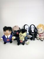 Addams Family Singing Musical Theme Song Plush Dolls Squeezers SET OF 6 NEW 2019