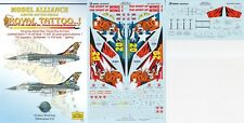 MODEL ALLIANCE DECALS 1/48 F-16 Fighting Falcon 20th Anniversary schemes (RTAF)