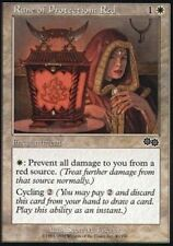 Rune of Protection: Red x4 Urza's Saga MtG NM pack fresh