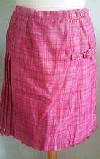 Knee Length Pleated, Kilt Unbranded Regular Skirts for Women