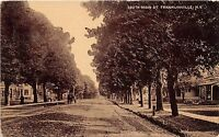 New York NY Postcard c1910 FRANKLINVILLE South Main Street Homes